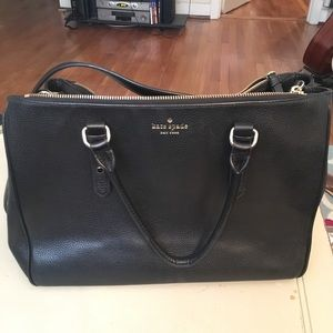 Kate Spade Mulberry Street Leighann Mahogany Tote
